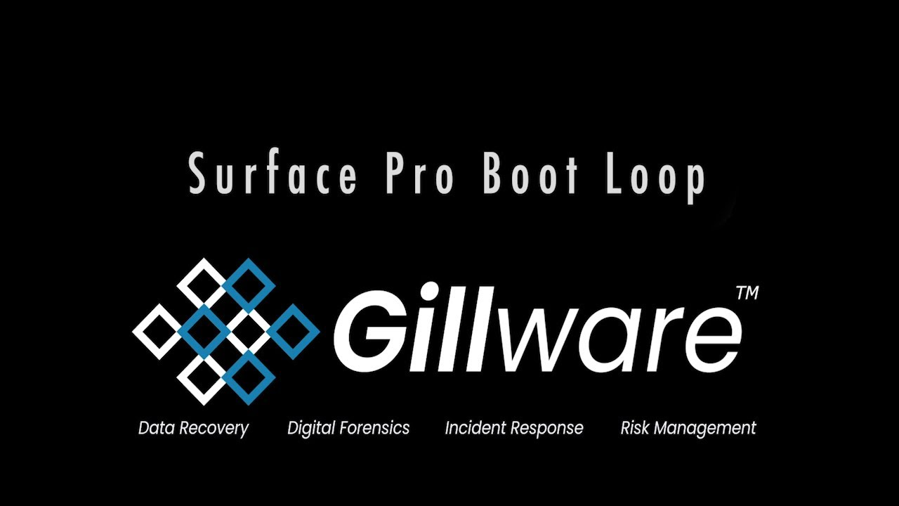 SOLVED] How to Break Free of a Surface Pro 4 Boot Loop | Gillware