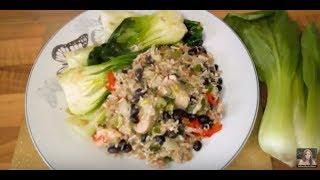 Chicken Pak Choi Fried Rice