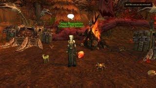 Battle Pet Tamers: Deiza Plaguehorn (eastern Kingdoms)