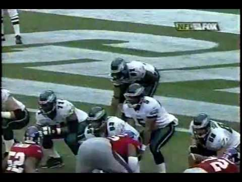 2004 Eagles at NY Giants Pt  1