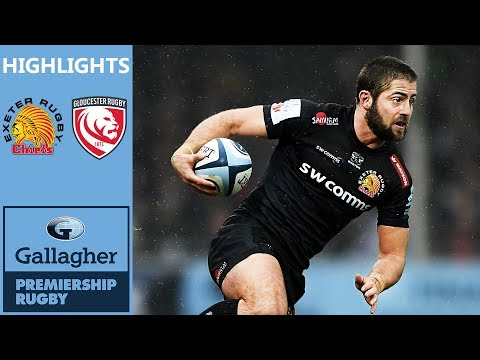 Exeter Chiefs v Gloucester Rugby | Chiefs Maintain Winning Run | Gallagher Premiership Highlights