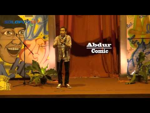 Stand Up Comedy: Abdur @ UNS Solo (Part 5)