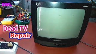 Dead TV Fault Repair Power Supply Section Related Fault
