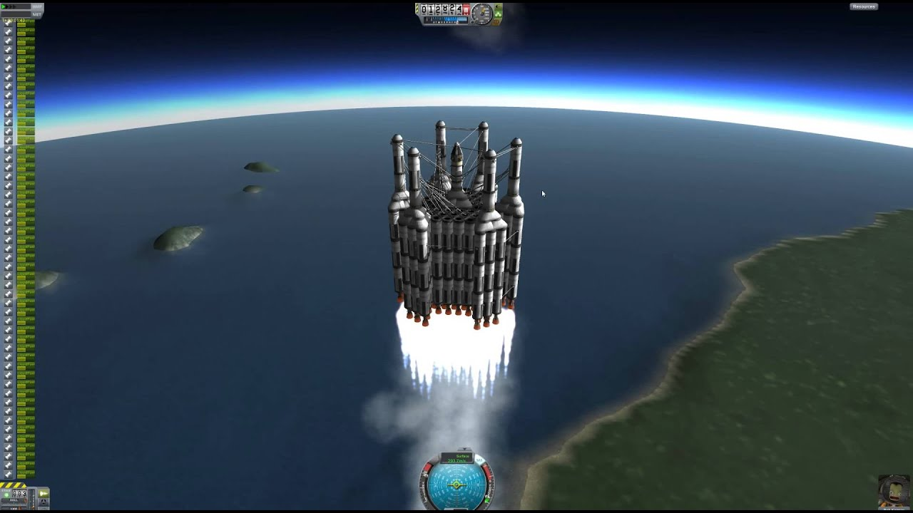 Is this the largest ship in Kerbal Space Program? - YouTube