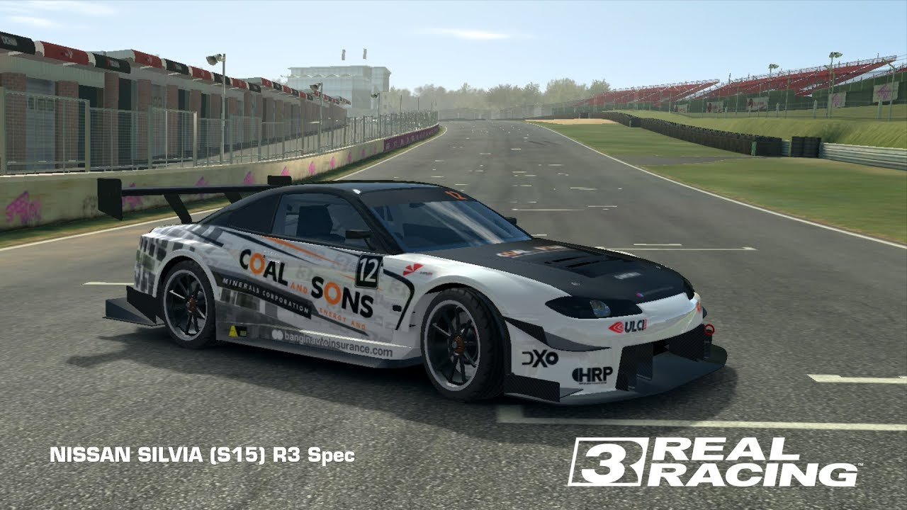 The all new nissan silvia r3 spec in real racing 3 it has got some serious power