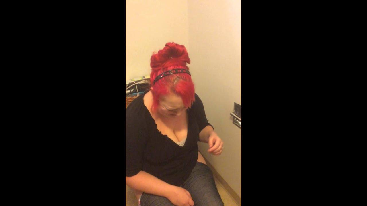 Bbw fun in a bathroom