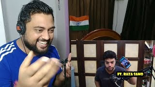 EATING ICE CREAM WITH KETCHUP FOR VIEWS | Ducky Bhai | ft. Raza Samo | Indian Reactions by Mayank