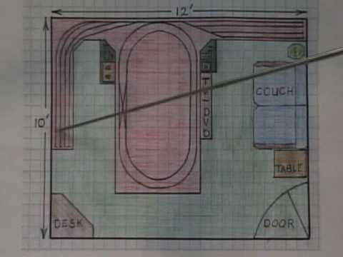 ho train layout- track plan ideas