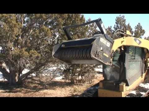 Gyro Trac Low Flow Skid Steer Mulcher Cutter