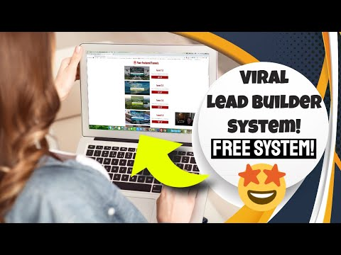 Free Lead Generation Software 2020 – Viral Lead Builder System