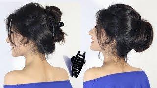 2 easy hairstyle bun with clutcher | new bun hairstyles | easy Hairstyle | hair style girl