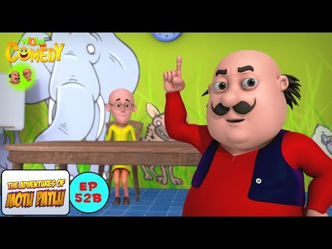 Tuition Teacher - Motu Patlu in Hindi -  3D Animated cartoon series for kids - As on Nickelodeon
