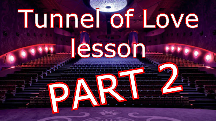 tuto  tunnel of love part 2  dire straits tab available