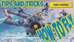 HOW TO FLY THE PLANE AND DO TRICKS IN FORTNITE SEASON 7