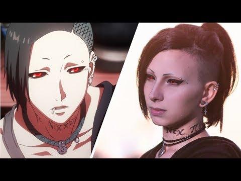 Uta (Tokyo Ghoul) Make-Up Tutorial