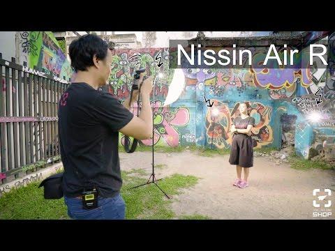 Shop102 ทำให้แฟลช Nissin i40 เป็นแฟลชแยก Radio ด้วย Nissin Air R - วันที่ 04 Jan 2017