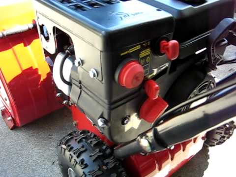 how to change oil yard 31ae6mkh515 model snowblower