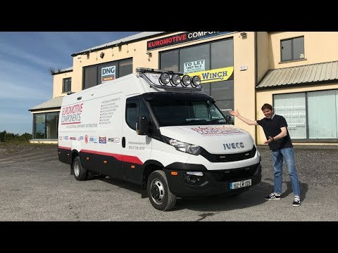 IVECO Daily Customised Van 205hp – Full Review & Test Drive