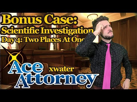 Phoenix Wright Dramatic Let's Play Case 5 Day 4  Two Places at Once