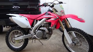 Why I Bought a 2009 Honda CRF450X in 2020