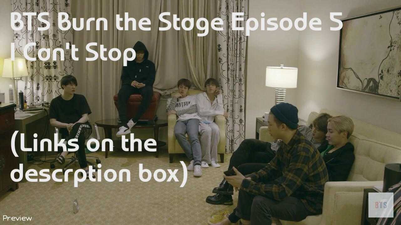 Bts Burn The Stage Ep 5 Eng Sub