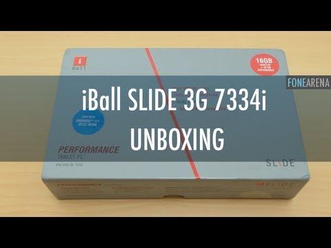 IBall Slide 3G 7334i Unboxing