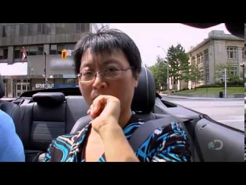 Bad Asian Woman Driver - Scary Driving Test Fail