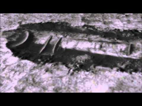 UFO Crash Site on Mars, Ancient Structural Ruins