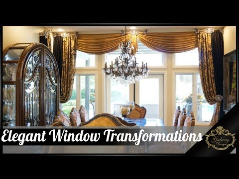 47 Elegant Window Transformations - Before and After from Galaxy Design Video #156