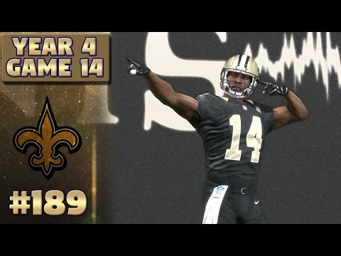 Saints vs Packers Highlights (S4,G14) | Madden NFL 17 New Orleans Saints Franchise Ep. 189