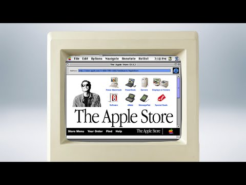 History Of The Online Apple Store