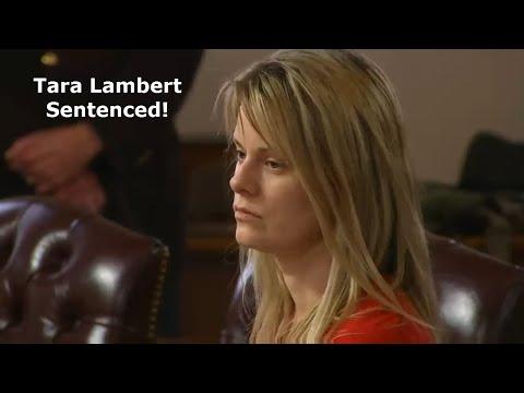 Tara Lambert Sentencing