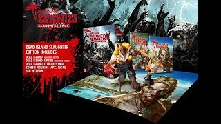 Unboxing Dead Island Definitive Edition Slaughter Pack For PS4 (Amy