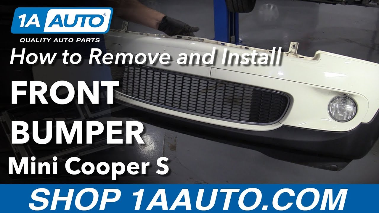 How To Remove A Front Bumper On 2007 Mini Cooper S 1A Auto Parts