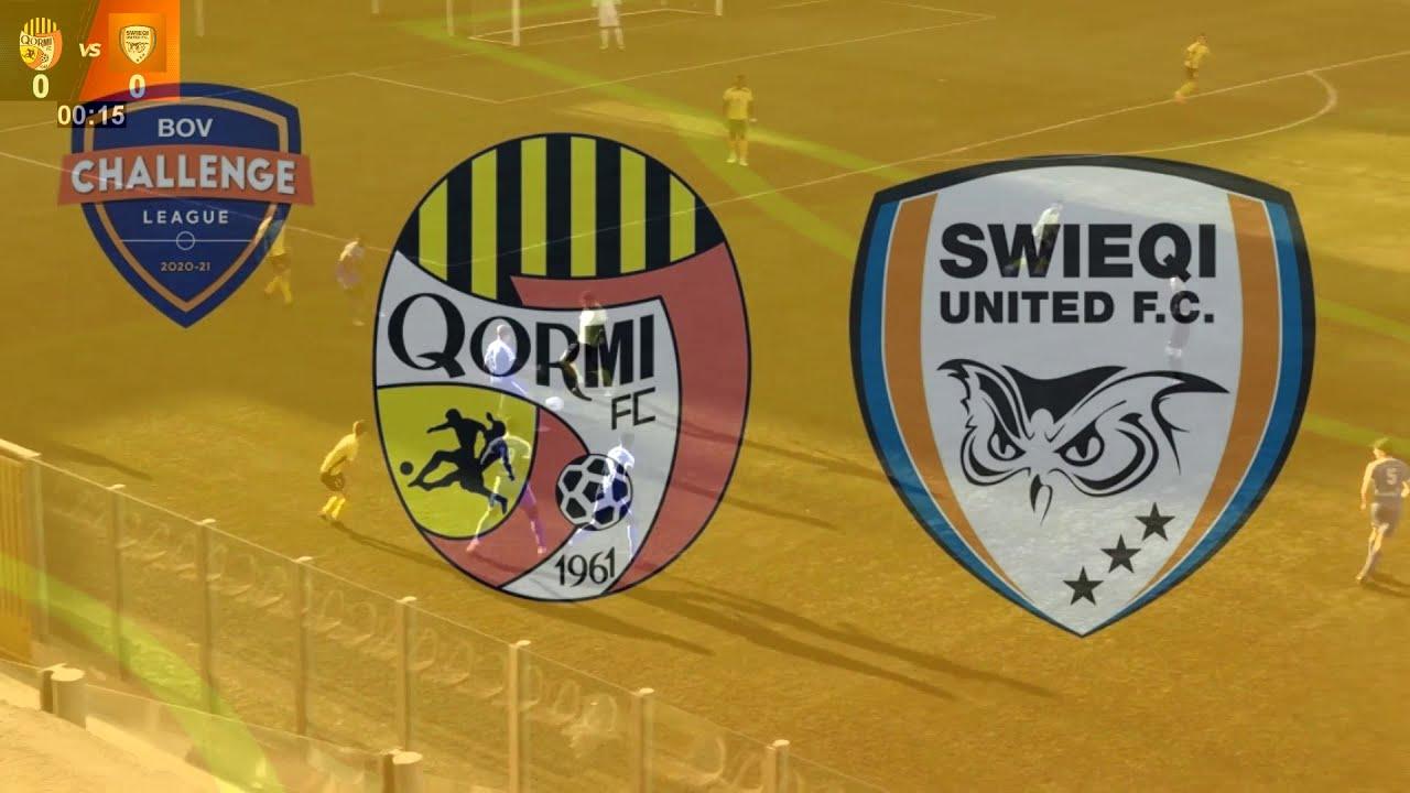 League Match no.4   Swieqi United Fc vs Qormi Fc