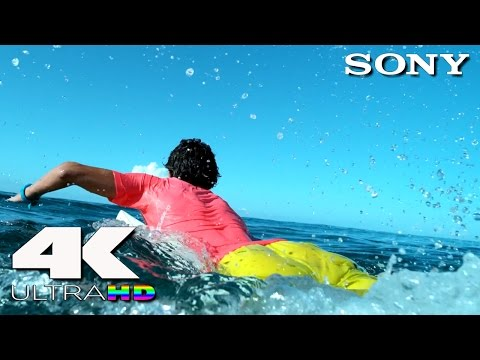 4K Ultra HD | SONY UHD Demo: Surfing