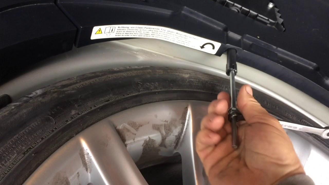 Bmw 745li E66 Parking Brake Malfunction Fix