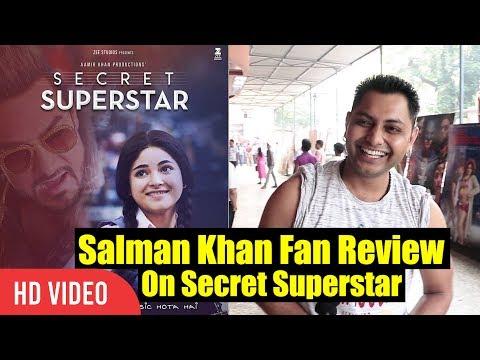 Salman Khan Fan Review On Aamir Khan's Secret Superstar | Secret Superstar Public Review