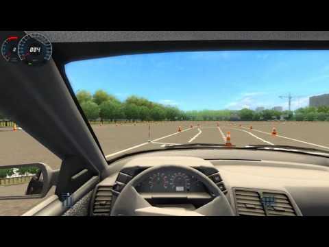 3D Инструктор: Сдаём площадку Обучение вождению Симулятор вождения #4 ( Gameplay, LetsPlay