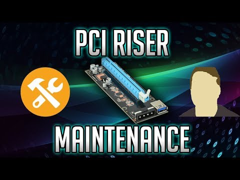 GPU Mining PCI RISER Common Problems
