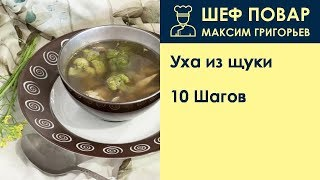 Уха из щуки . Рецепт от шеф повара Максима Григорьева