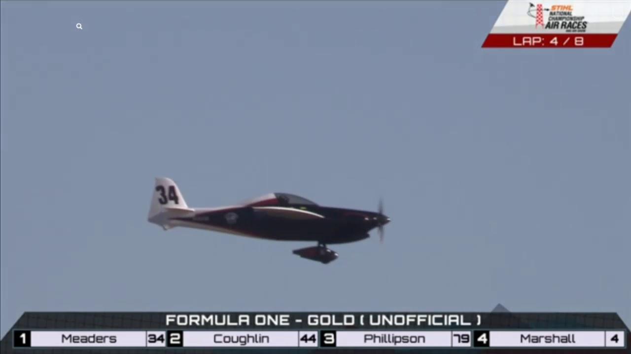 Formula One Race (Gold) 9-16-2018 - Reno Air Races 2018