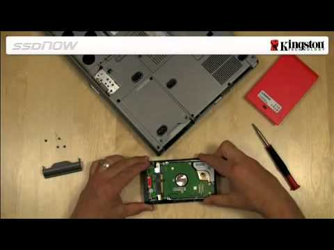 Install SSD in Notebooks – Kingston Technology