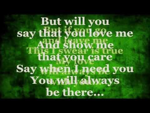 Regine Velasquez - Say That You Love Me (Lyrics) - YouTube