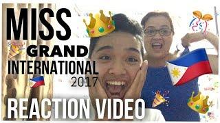 Miss Grand International 2017 (Reaction Video)