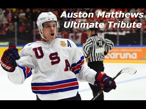 Auston Matthews Ultimate Tribute I Highlights I HD - YouTube