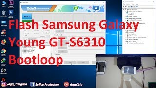 Cara Flash Samsung Galaxy Chat GT-B5330.