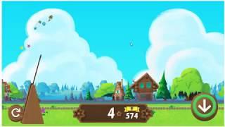 GoogleChromeのミニゲーム『ガーデンノーム』やってみた