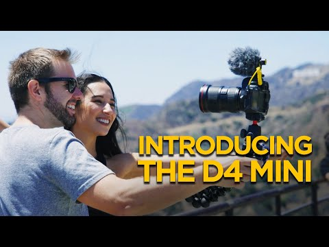Introducing the D4 Mini | Ultra Lightweight Mic for Mobile + DSLR Filmmakers