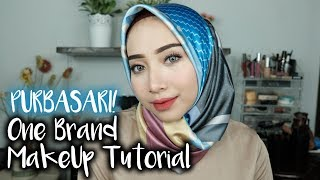 PURBASARI ONE BRAND MAKEUP TUTORIAL + LIP MATTE SWATCHES + GIVEAWAAAAYYY!!!